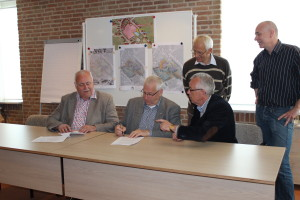 ondertekening de Wielen